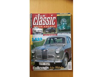 Classic Motor 5 2003: Volvo PV 822 1947, Edsel 1960, Wolseley 1500 - Uppsala - Classic Motor 5 2003: Volvo PV 822 1947, Edsel 1960, Wolseley 1500 - Uppsala