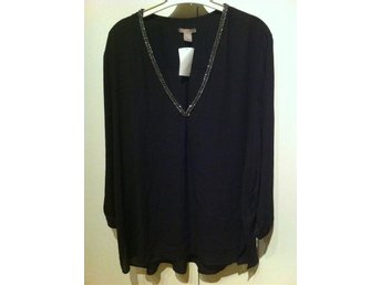 Ny svart blus från H&M , H&M plus size - Vänersborg - Ny svart blus från H&M , H&M plus size - Vänersborg