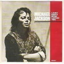 "LP-Maxi-singel Michael Jackson ""I just can't stop loving you"""