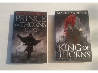 Bok Mark Lawrence - Prince of thorns King of thorns (Pocket)