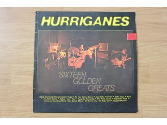 LP. Vinyl. Hurriganes. Sixteen golden greatest