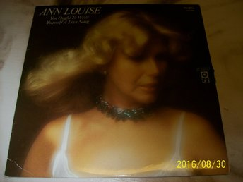 Ann Louise - You ought to write yourself a love song (LP)