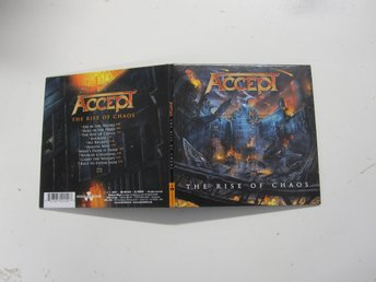 Accept - The Rise of chaos - 2017  Digipak