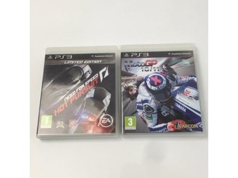 PS3 Spel, Moto GP 10/11, Need for Speed Hot Pursuit