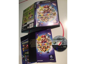 Nintendo Gamecube spel Mario Party 5 Komplett PAL