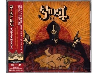 GHOST INFESTISSUMAM JAPAN PRESS LIMITED EDITION 2013 ROCK