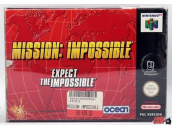 Mission Impossible (inkl. Skyddsbox & Bergsala)
