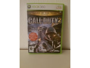 Call of Duty 2 Game of the Year Edition till Xbox 360