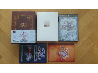 PlayStation 2/PS2: Ys III 3 Limited Edition Box