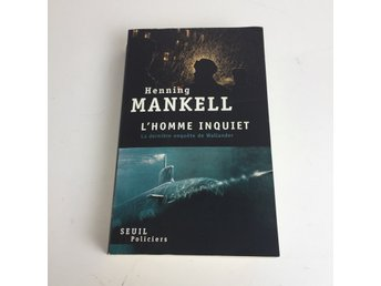 Bok, L\HOMME INQUIET, HENNING MANKELL, Pocket, ISBN: 9782021018783, 2010