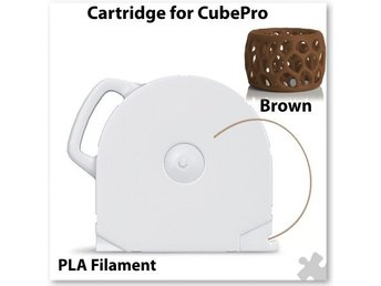 3DSystems CubePro Cartridge PLA Brown