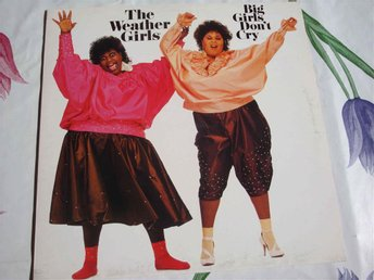 WEATHER GIRLS THE - BIG GIRLS DON´T CRY LP 1985