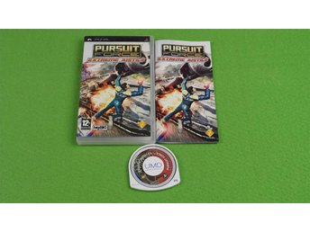Pursuit Force Extreme Justice PSP Playstation Portable