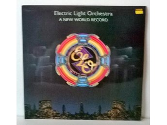 Electric Light Orchestra - A New World Record, vinyl LP