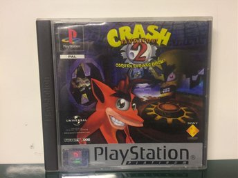 Crash Bandicoot 2: Cortex Strikes Back - Playstation 1/PS1 - MKT FINT SKICK!