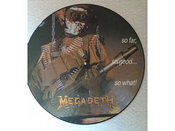 Megadeth - So Far So Good.. So What