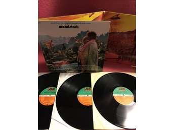VA - WOODSTOCK MUSIC FROM THE ORIGINAL SOUNDTRACK 3-LP