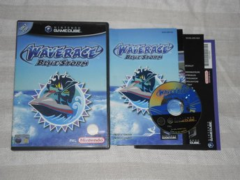 Nintendo GameCube: Wave Race: Blue Storm (svenskt)