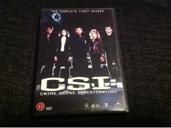 CSI- The coplete first season (6-disc)