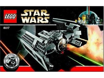 Lego 8017 Darth Vaders TIE Advanced ! OBS ! Utrop 1 kr !