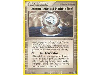 Pokémonkort: Ancient Technical Machine Ice [EX Hidden Legends] 84/101 - Hova - Pokémonkort: Ancient Technical Machine Ice [EX Hidden Legends] 84/101 - Hova