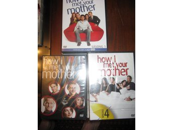 How I meet your mother säsong 1-3