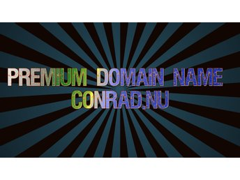 Premium Domain Name Conrad.nu