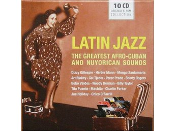 Various - Latin Jazz - 10 CD Original Album Collection (10xCD, Comp + Box)