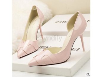 Damsko Pumps AGUTZM Solid Colors Pump pink Size 37.5