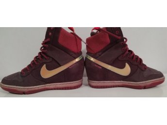 sneakers med kilklack nike