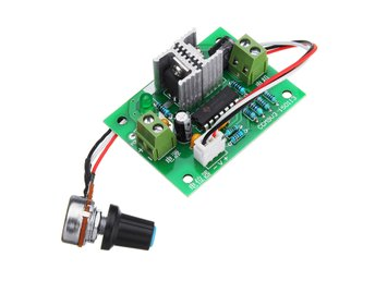 12V-24V Pulse Width PWM DC Motor Speed Switch Controller ...