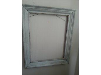 Icke gamla Stor äldre vit ram i trä träram 62 x 50 (354717973) ᐈ Köp på Tradera GU-61