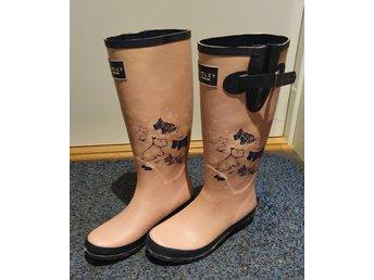 Radley gummistövlarwellies rosa med hundar sto.. (416326850