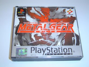 METAL GEAR SOLID SONY PLAYSTATION KOMPLETT PAL