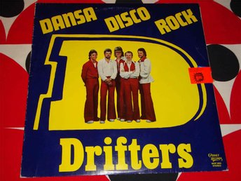 DRIFTERS - DANSA DISCO ROCK LP 1977