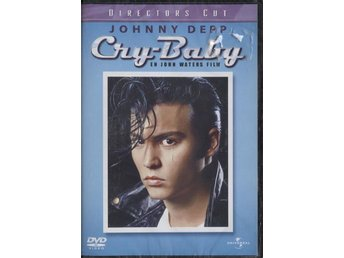Cry-Baby - 1989 - Director's Cut - OOP - DVD - NEW - Johnny Depp
