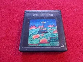 WORLD END till Atari 2600 - Blomstermåla - WORLD END till Atari 2600 - Blomstermåla