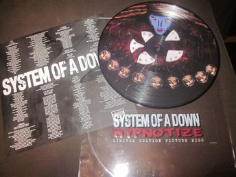 System Of A Down - Hypnotize Ospelad Bild vinyl (tool Muse Metallica In Flames)