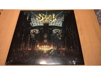 Ghost meliora yellow splatter color vinyl