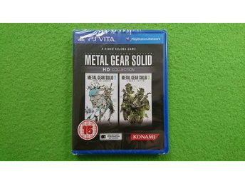 Metal Gear Solid HD Collection NYTT INPLASTAT Playstation Vita ps vita