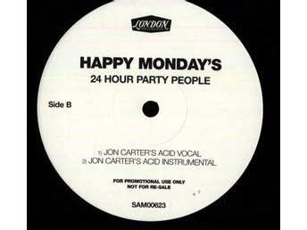 HAPPY MONDAY'S - 24 HOUR PARTY PEOPLE