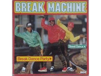 Break Machine title* Break Dance Party *Hip-Hop, Breakbeat, Electro Cult Swe LP