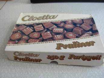 Cloetta Praliner!  Chocklad ask!  250 gram!