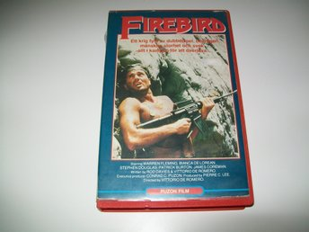 FIREBIRD , Hyr VHS ,stora boxen , Action , Firebird Conspiracy , Puzon Film