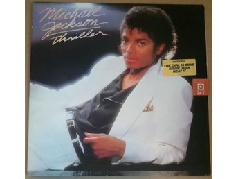 "MICHAEL JACKSON - THRILLER (LP, 12"") EPIC [EPC 85930] (2)"