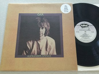 Lp Alexander Spence-Oar rare Uk org på edsel med stickern