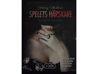 SIDNEY SHELDONS SPELETS HÄRSKARE - MASTER OF THE GAME - 3 DISC