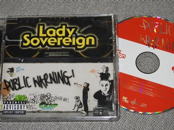 Lady Sovereign - Public Warning CD