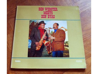 BEN WEBSTER  Meets DON BYAS SABA Jazz 1968 Montulio Toootie