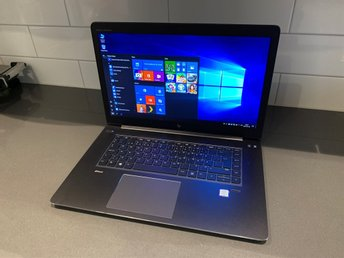 HP ZBook 15 Studio G4 Core i7-7820HQ 2,9GHz 16GB DDR4 512GB SSD Quadro M1200 4GB